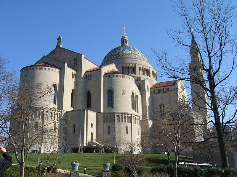 Marvelous Largest Catholic Church In Usa #1: DC-Basilica-Shrine-wikipedia-2.jpg