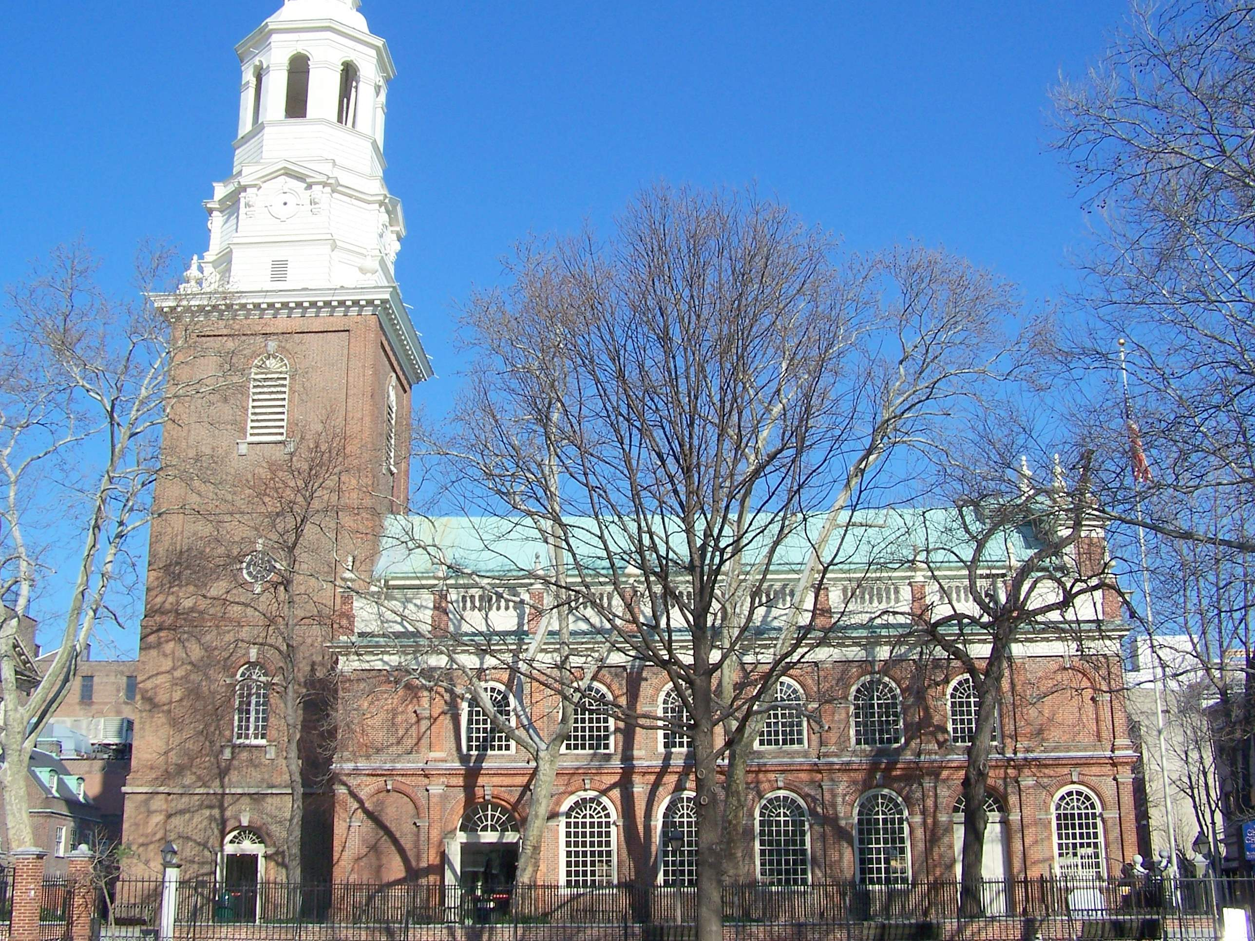 Christ Church Picture: CHURCHES OF THE FOUNDING FATHERS