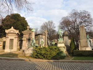 Montparnasse Cemetery (photo by Altagrace Gustav)