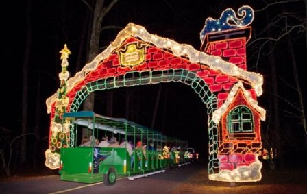 Christmas Light Drive Thrus The Complete Pilgrim Religious Travel Sites