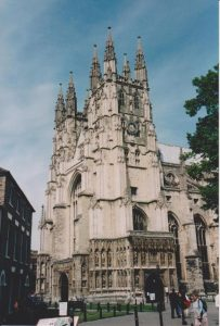Canterbury Cathedral Exterior