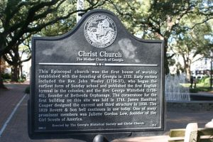 Christ Church Historic Marker