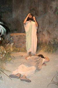 Creation Museum Cain and Abel Exhibit