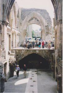 Glastonbury Abbey Interior
