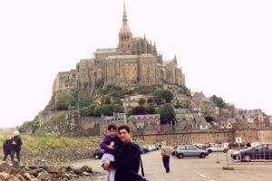 Abbey on Mont Saint Michel