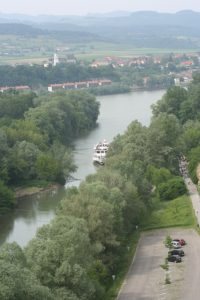 View of the Danube River