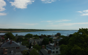 View from the Old South First Presbyterian Church of Newburyport