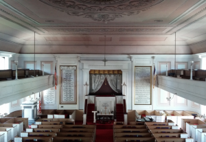 Old South First Presbyterian Church of Newburyport Interior