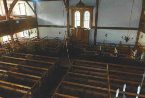 Old Ship Church Interior