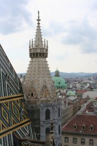 View of Vienna from St. Stephen's