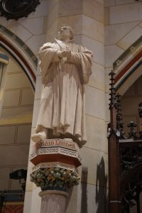 Martin Luther Statue, Wittenberg Castle Church