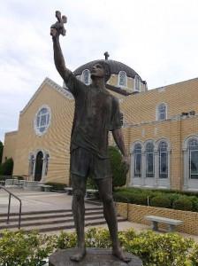 Statue of the Cross Diver (wikipedia.com)