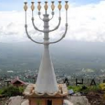 WORLD'S LARGEST PERMANENT MENORAH