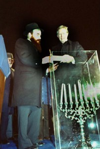 National Menorah Lighting with President Carter (wikipedia.com)