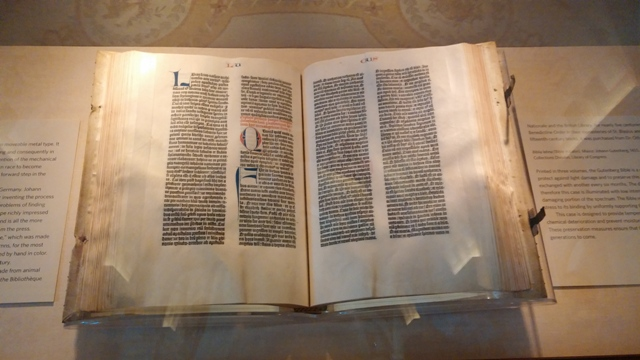 WHERE TO SEE A GUTENBERG BIBLE - The Complete Pilgrim - Religious