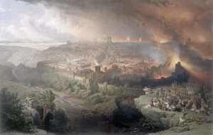 Siege of Jerusalem (David Roberts, 1850)