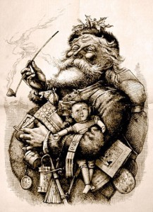 Santa Claus by Thomas Nast (wikipedia.com)