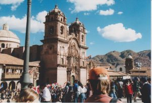 Basilica of Our Lady of the Assumption in Cuzco Exterior