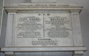 United First Parish Church of Quincy John and Abigail Adams Memorial
