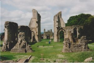Ruins of Glastonbury Abbey