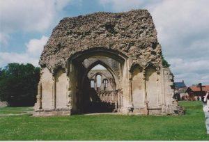 Ruins of Glastonbury Abbey Church