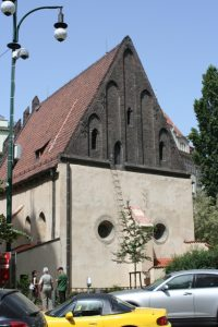Old-New Synagogue Facade