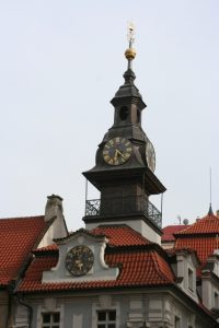 Prague Jewish Clocktower