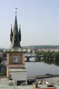 View from Prague's Jewish Ghetto