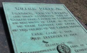 King's Chapel Boston William Dawes Memorial