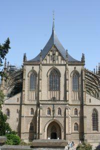 Facade of the Church of Saint Barbara