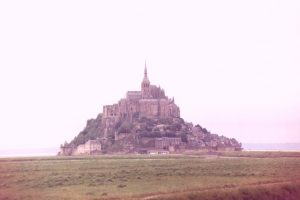 View of Mont Saint Michel