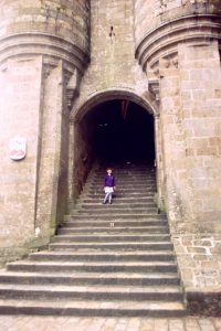 Abbey Steps of Mont Saint Michel