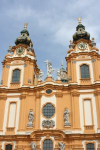 Melk Abbey Facade