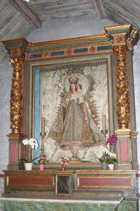 Virgin Mary Figure at Mission Carmel