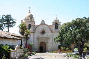 Basilica at Mission Carmel