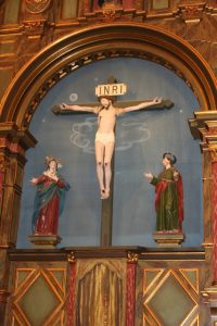 Crucifix at Mission Carmel