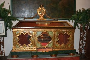Reliquary at Mission Carmel