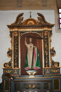 Figure of Jesus Christ at Mission Carmel