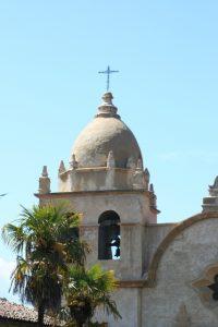 Basilica Belltower at Mission Carmel