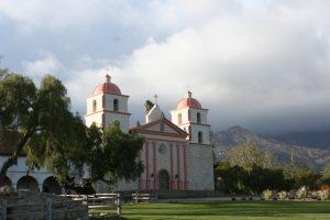 Mission Santa Barbara Exterior