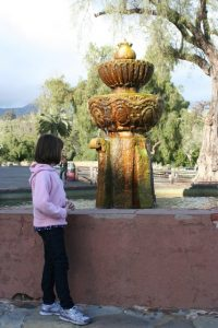 Fountain at Mission Santa Barbara