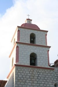 Belltower of Mission Santa Barbara