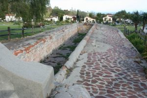 Laundry Basin At Mission Santa Barbara