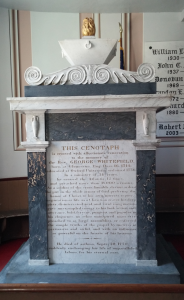 Old South First Presbyterian Church of Newburyport George Whitefield Memorial