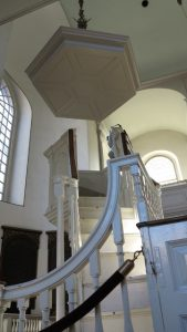Old North Church Pulpit
