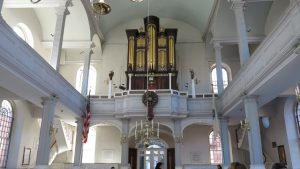 Old North Church Pipe Organ