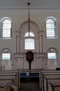 Old South Meeting House Boston Interior