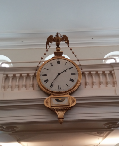 Old South Meeting House Boston Clock
