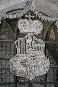 Crest in Sedlec Bone Church