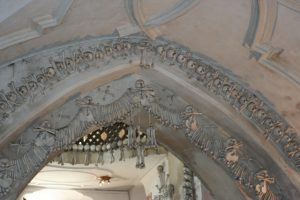 Vaulted Arch in Sedlec Bone Church